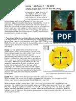 Astr Worksheet 1