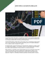 Povratak financijskih tržišta u normalu ili zatišje pred oluju.doc