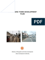 HOMAGAMA TOWN DEVELOPMENT PLAN