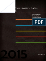 Configuracion de Switch 2960