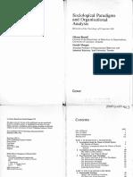 S.2 Burrell, G. & Morgan, G. (1979) Sociological Paradigms and Organizational Analysis. Cap. 1, 3 y 7