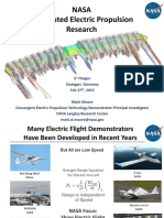 Distributed Electric Propulsion Research