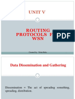 Ruting Protocol for Wsn