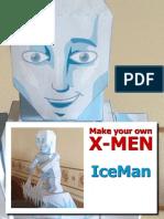 Iceman Papercraft