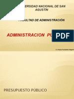 Administracion Publica III
