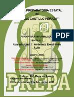 Ambiente Excel Nidia Ávila