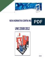 Norma de UNE 23500 Presentacion