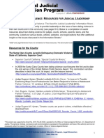 NJEP Teen Dating Violence Resources for Judicial Leadership
