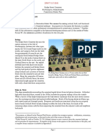 Bridge Street Cemetery preservation master plan