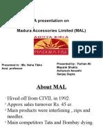 Madura Accessories Limited