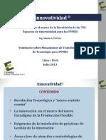 La Innovacion y La Revolucion Tic - Oportunidad Para Las Pymes