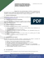 Contrato de Prestação de Serviços Coach Padrão