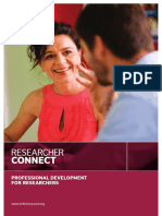 Research Connect Web Prospectus