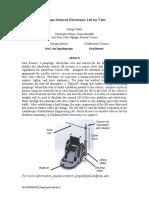 Wheelchair Lift Executive Summary