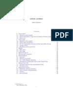 Linear Algebra Cambridge Mathematical Tripos Part IB