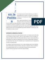 El rol de la mujer en la Política