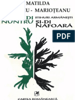 Matilda Caragiu-Marioteanu - Stihuri Armanesti