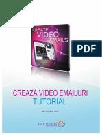 Crearea Unui Video Email