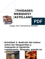 Actividades Webquest Castellano
