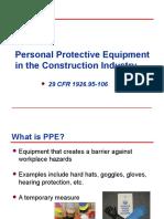Ppe Construction