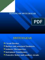 Switchgear Slide