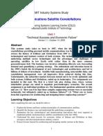 Communications Satellite Constellations