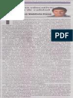 Problema educativo, cuestión de calidad. Juan Carlos Valdivia Cano