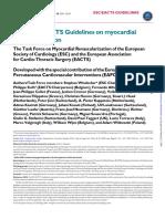 2014 ESC Guidelines on Myocardial Revascularization