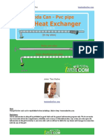 Hot Cold Air Heat Exchanger