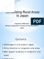 Revitalising Rural Areas in Japan KatsuhikoYamauchi
