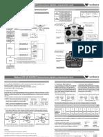 Walkera QR X350PRO Quick Start Guide Spanish