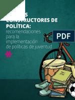 Jovenes Constructores de Política