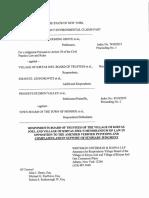 Memorandum of Law 1-22-16
