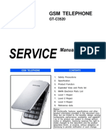 Samsung Gt-c3520 Service Manual