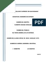Investigacion U1 Teoria General de Los Sistemas