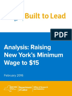 Minimum Wage Report