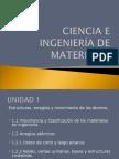 Apuntes de Ciencia e Ingeniería de Matriales u1