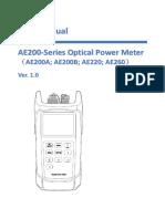 AE200 Manual Ver 1.0