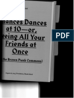 Chances Dances at 10 - or Seeing all Your Friends at Once (in the Brown Punk Commons)