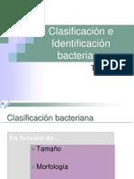 Técnicas de Identificación Bacteriana