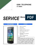 Samsung Gt-s8600 Service Manual r1.0