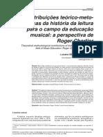 GARBOSA. Contribuicoes Da Historia Da Leitura Para a Educacao Musical