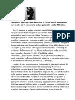 Omagierea Poetului Mihai Eminescu Şi Ziua Culturii