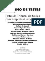 Caderno de Teste de Tribunais Comentada