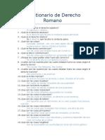 Generalidades del Derecho Romano