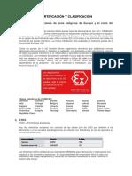Certificacion y Clasificacion de Area