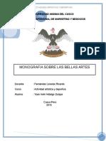 Bellas Artes Monografia