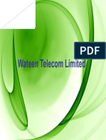 Wateen Telecom Limited Corporate Profile