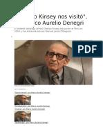 Marco Aurelio Denegri - Cuando Kinsey Nos Visitó