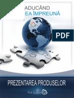 prezentarea produselor